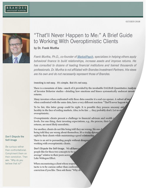 A Brief Guide to Working With Overoptimistic Clients_White Paper